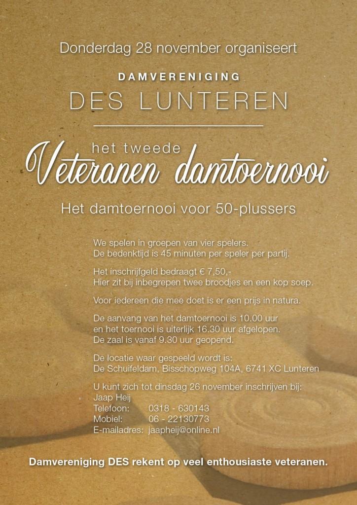 Veteranentoernooi 2013